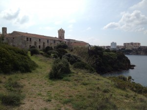 West side of the Isla del Rey, with chapel.