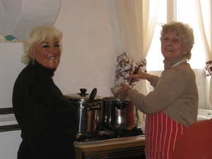 Cooks, Wendy & Sheena