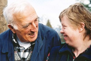 Jean Vanier, founder of the communities of L'Arche