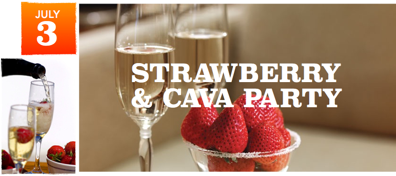 Strawberry-Cava