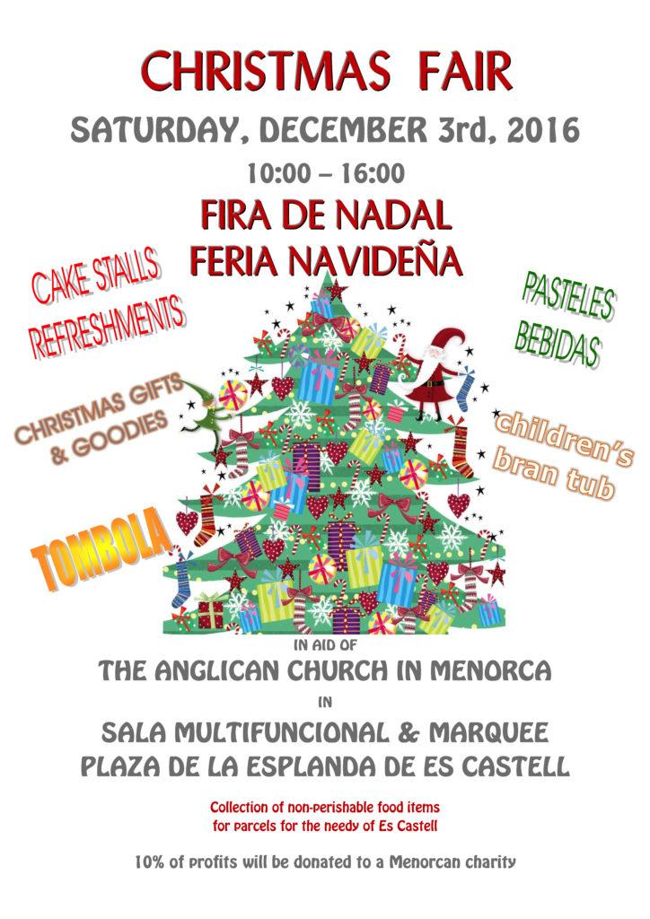 Christmas Fair 2016 poster